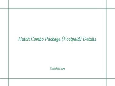 Hutch Combo Package (Postpaid) Details